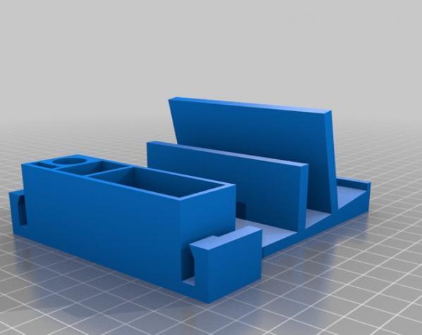 迷你桌面规整架 3D模型  图3