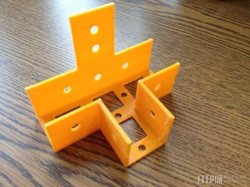 花园木桩支架 3D模型  图5