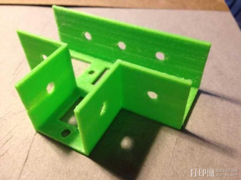 花园木桩支架 3D模型  图4