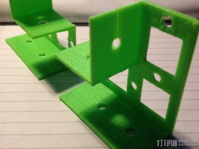 花园木桩支架 3D模型  图6