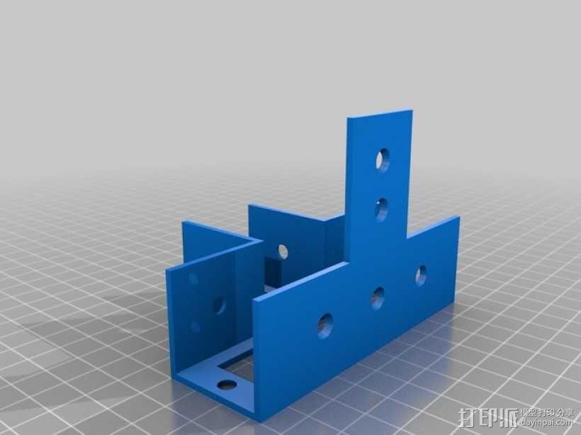 花园木桩支架 3D模型  图13