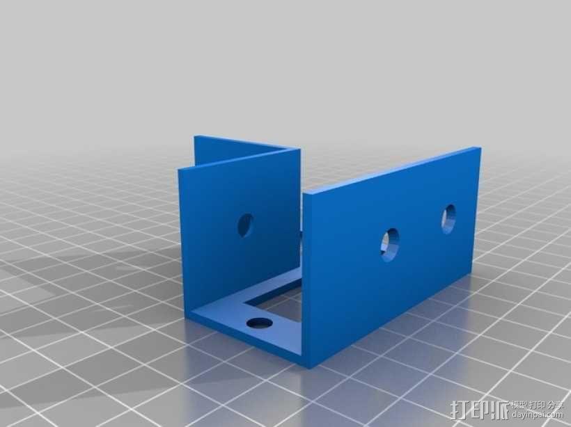花园木桩支架 3D模型  图11