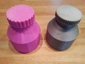 迷你小瓶 3D模型