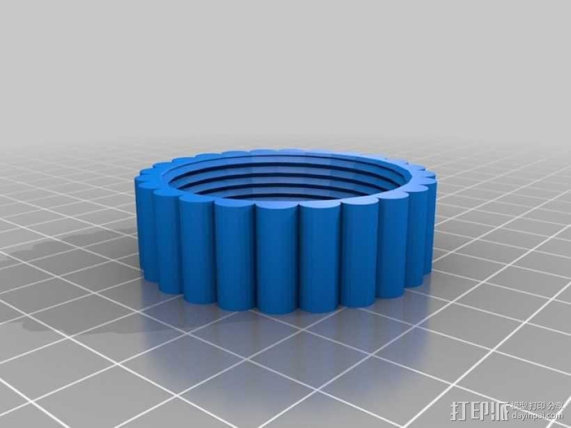 迷你小瓶 3D模型  图3