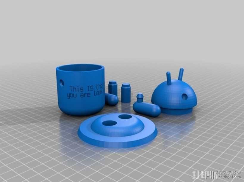 定制化安卓机器人 3D模型  图4