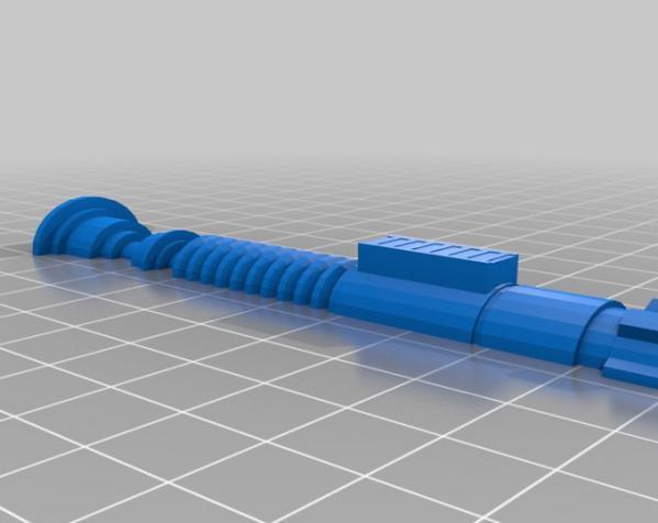 """""""冰之军刀""""手柄 3D模型  图6"""