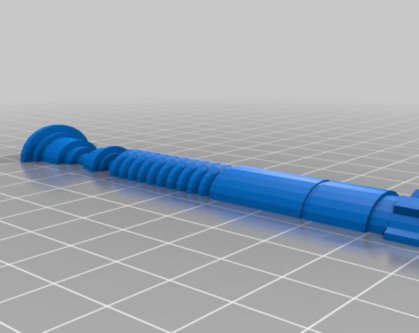 """""""冰之军刀""""手柄 3D模型  图7"""