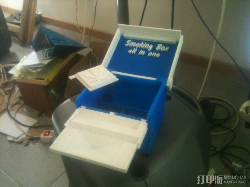 一体化烟盒 3D模型  图2