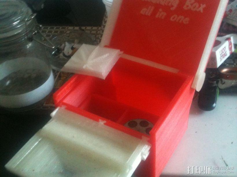 一体化烟盒 3D模型  图1
