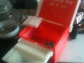 一体化烟盒 3D模型