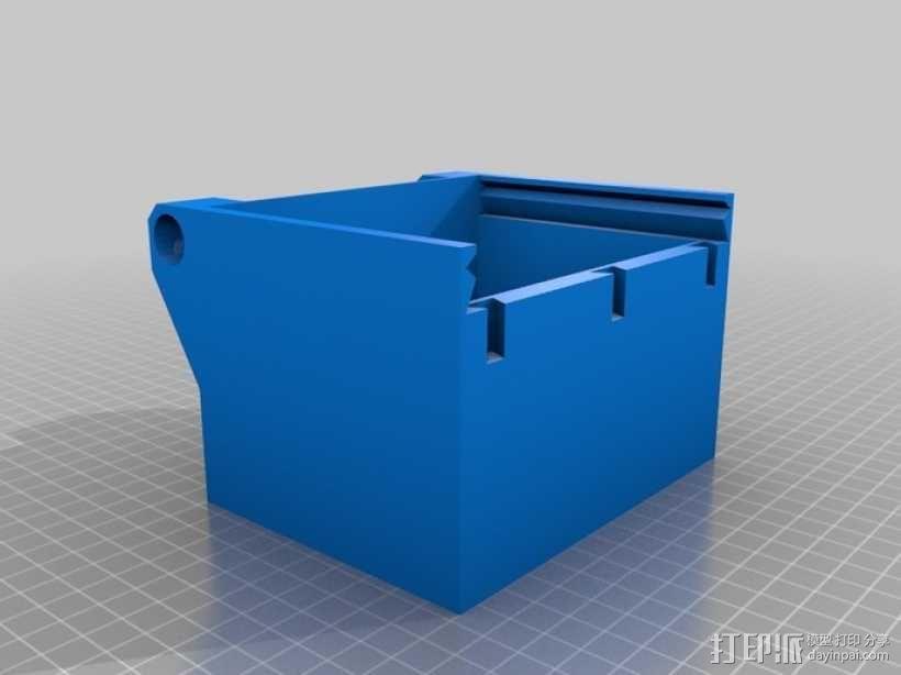 一体化烟盒 3D模型  图6