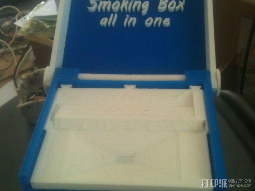 一体化烟盒 3D模型  图3