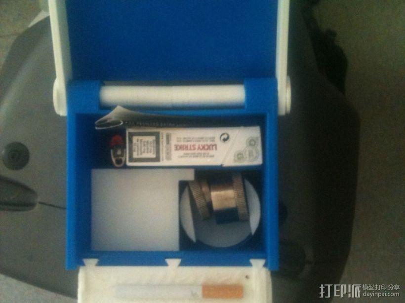 一体化烟盒 3D模型  图4