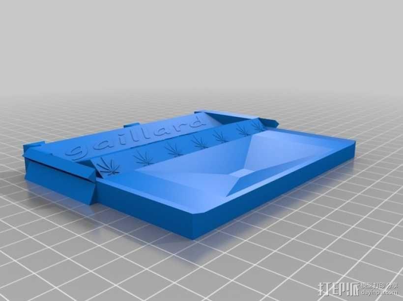 一体化烟盒 3D模型  图8