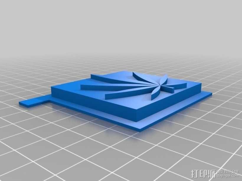 一体化烟盒 3D模型  图9