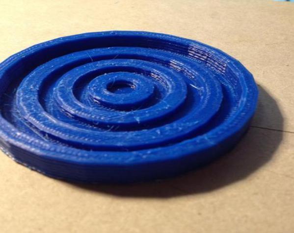 迷你漩涡形杯托 3D模型  图4