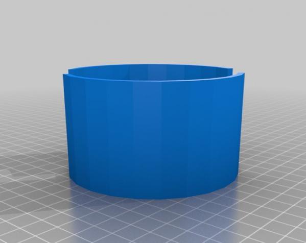 迷你漩涡形杯托 3D模型  图6