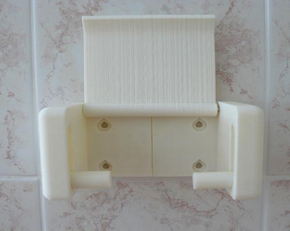 迷你厕纸架 3D模型  图2