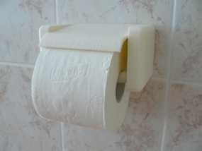 迷你厕纸架 3D模型