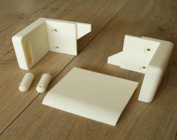 迷你厕纸架 3D模型  图3