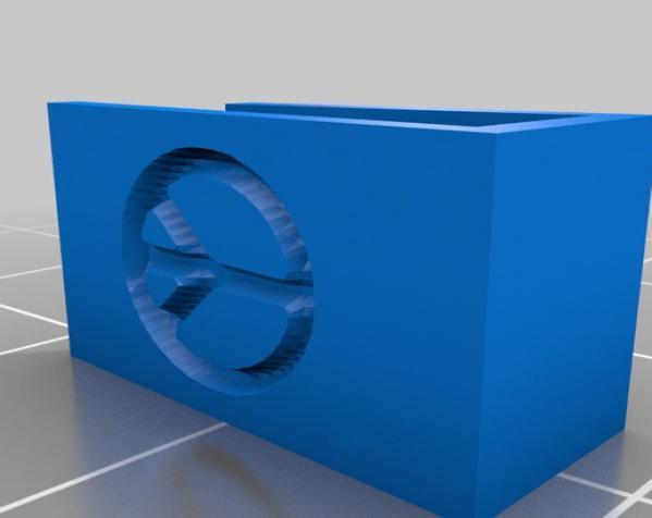 定制化杯签 3D模型  图2