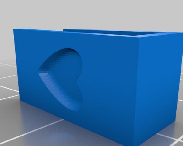 定制化杯签 3D模型  图3