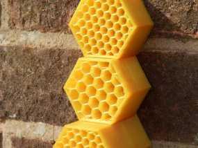 迷你单居蜂蜂房 3D模型