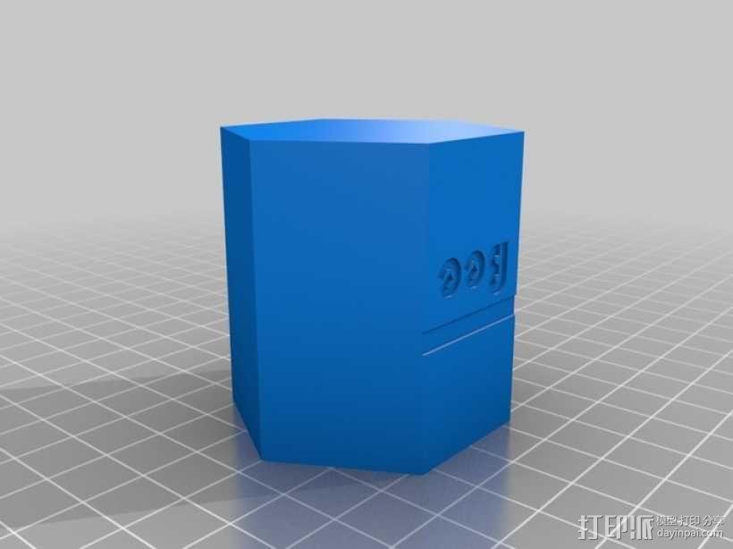 迷你单居蜂蜂房 3D模型  图2