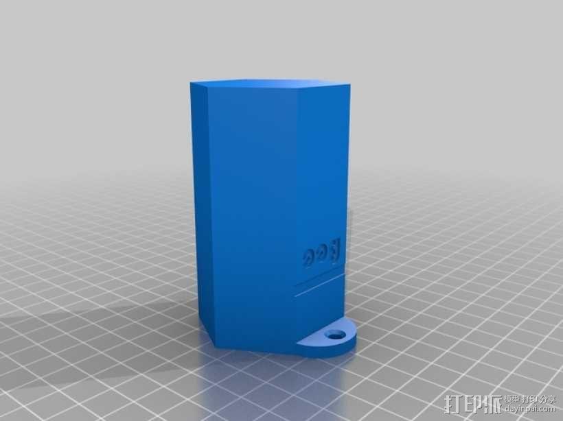 迷你单居蜂蜂房 3D模型  图3