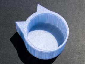 猫形小碗 3D模型
