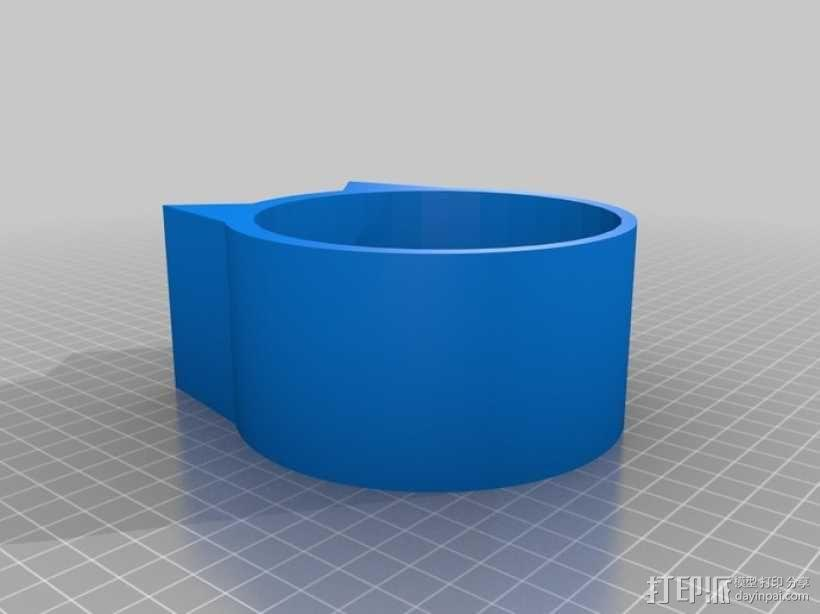 猫形小碗 3D模型  图2