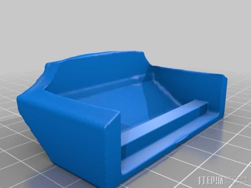 骷髅头城堡形鸟笼 3D模型  图10