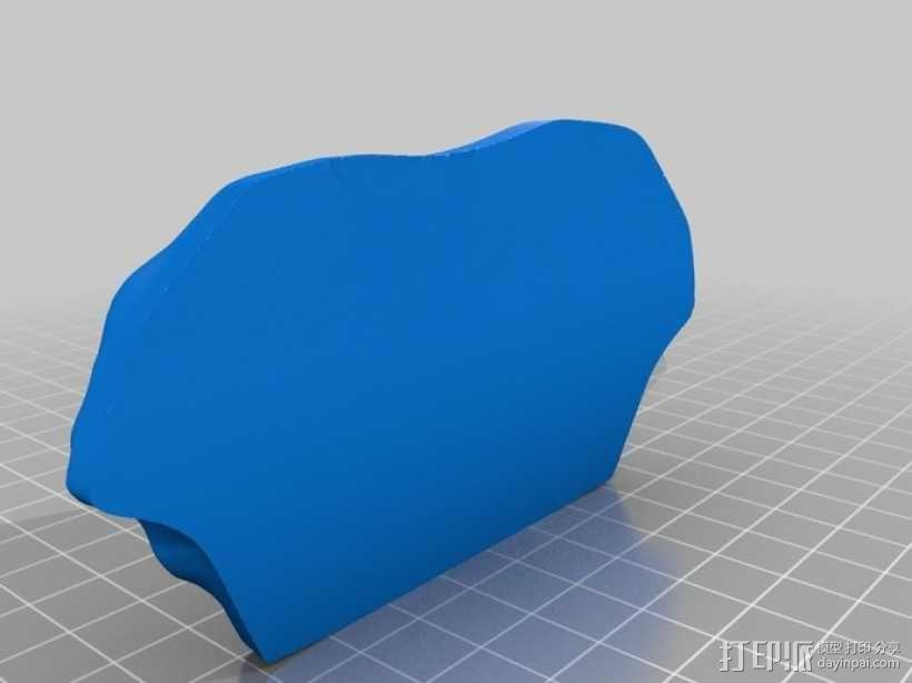 骷髅头城堡形鸟笼 3D模型  图12