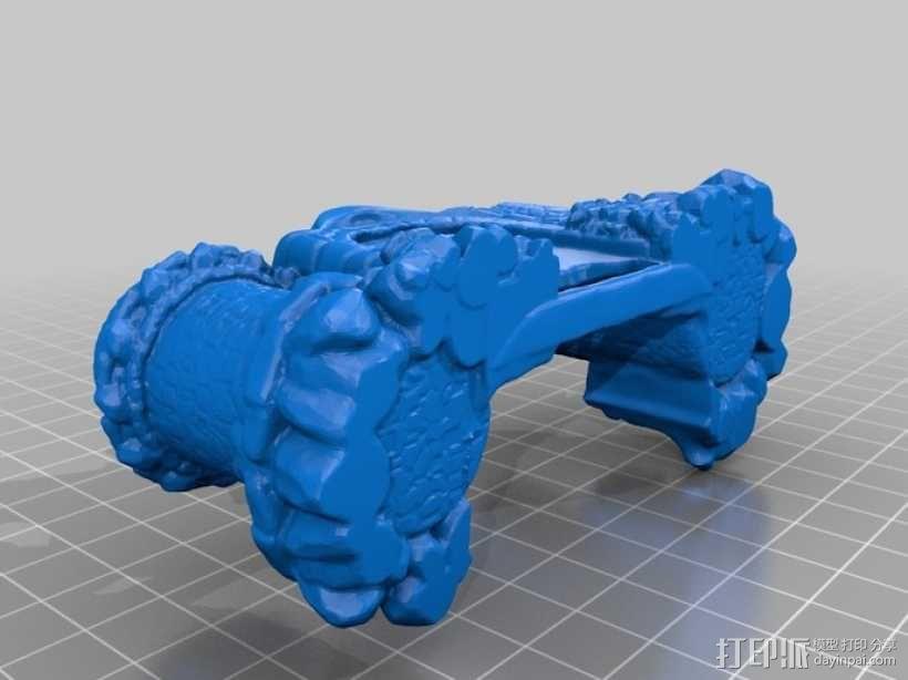 骷髅头城堡形鸟笼 3D模型  图13
