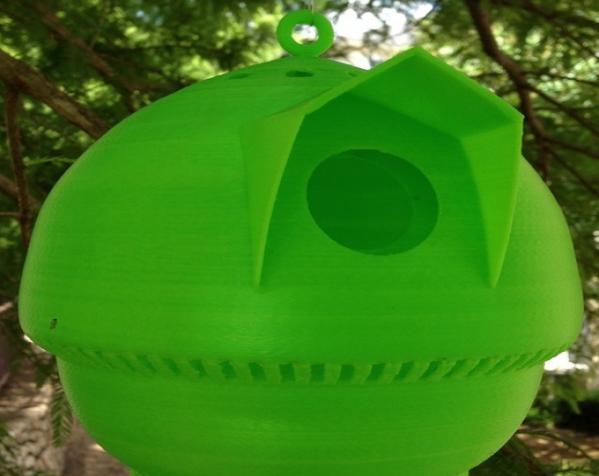 迷你个性化鸟笼 3D模型  图4