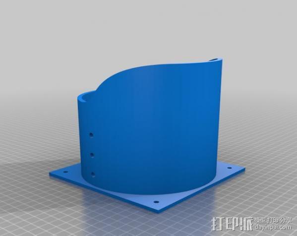 红绿灯形鸟笼 3D模型  图3
