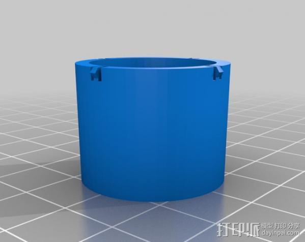 红绿灯形鸟笼 3D模型  图2