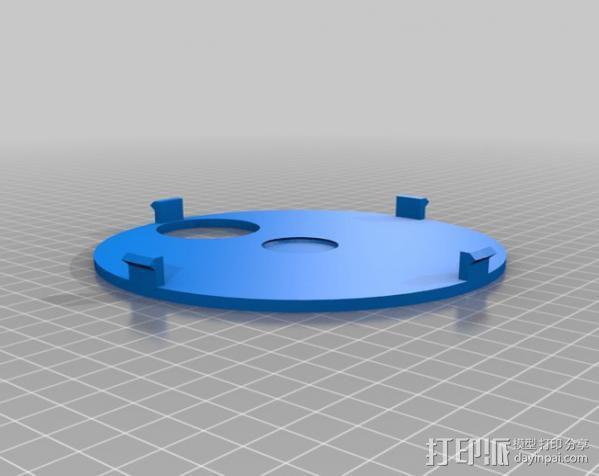红绿灯形鸟笼 3D模型  图5