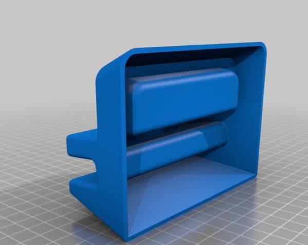 桌面式便签盒/名片盒 3D模型  图3