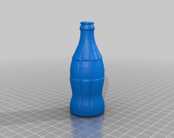 可口可乐瓶灯罩 3D模型  图6
