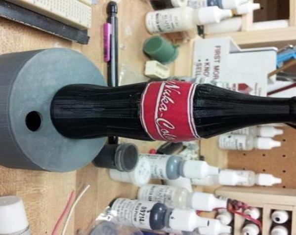 可口可乐瓶灯罩 3D模型  图17
