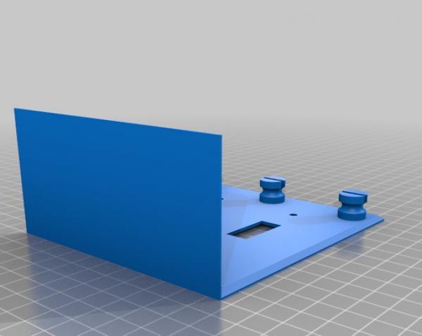 多功能开关板 3D模型  图4