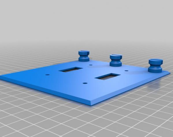 多功能开关板 3D模型  图6