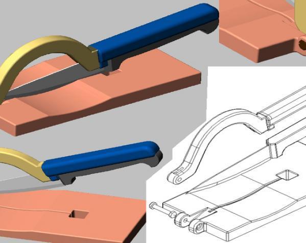 厨用刀具支架 3D模型  图3