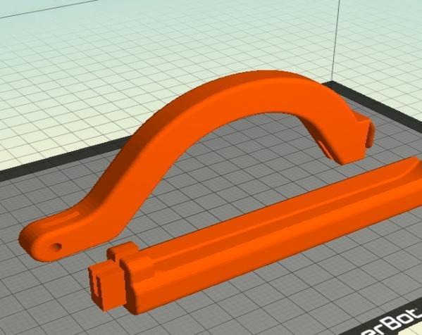 厨用刀具支架 3D模型  图8