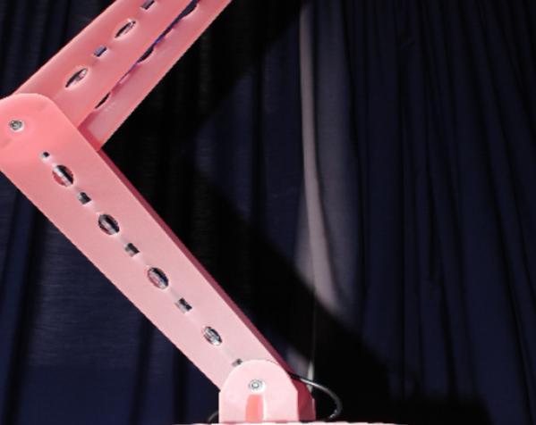 激光切割MR16 LED台灯 3D模型  图4