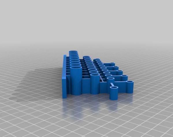 通用工具架 3D模型  图2