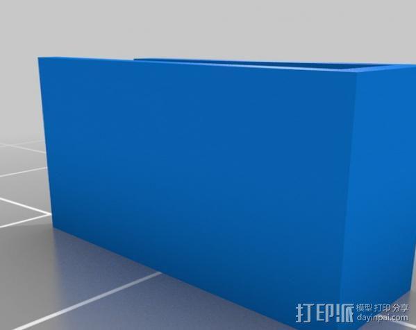 个性化水杯标签 3D模型  图3