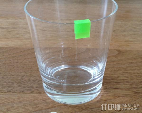 个性化水杯标签 3D模型  图4