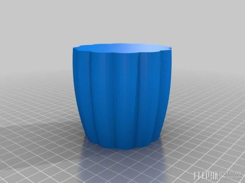 个性化花瓶/杯子 3D模型  图2
